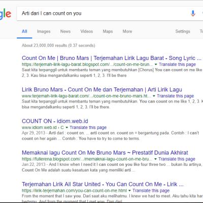 Cara Belajar Bahasa Inggris Dengan Menghapal Expressions contoh mencari makna bahasa Inggris di google