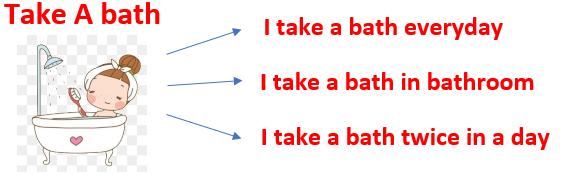 Gambar: take a bath