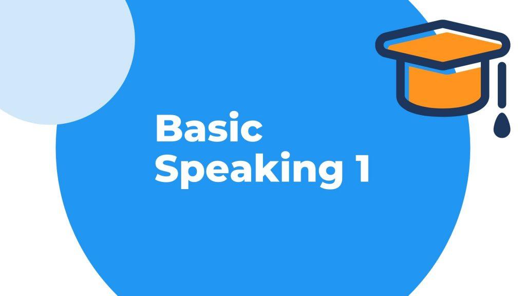 Belajar Speaking Mudah Belajar speaking 1