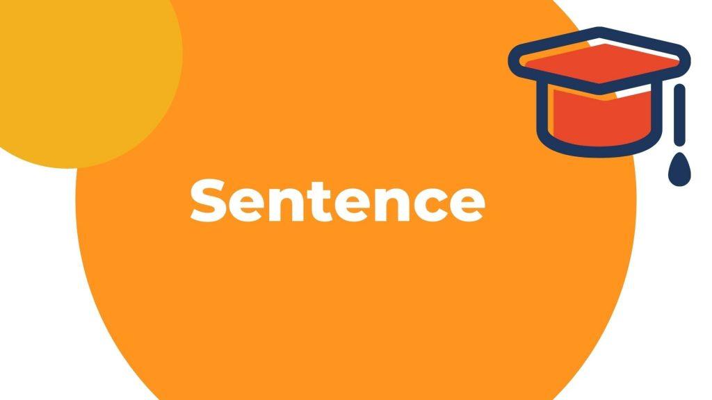 Kelas sentence