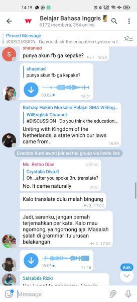 Gabung Group Belajar Bahasa Inggris di Telegram Screenshot 2020 12 19 14 19 25 11 74594bd74a0419242537a8d02ba17993